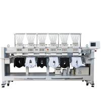 Buy cheap 12 15 Needles 6 Head Embroidery Machine High Speed T Shirt Hat Embroidery from wholesalers