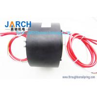 Wholesale Through hole 60mm High Current Slip Ring 3 Circuits 200A Power 15 Circiuts Signal​ from china suppliers