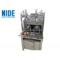 Buy cheap Double stations Brushless motor external armature rotor coil winding machine from wholesalers