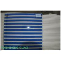 Wholesale Toughened Tempered Silk Screen Glass with Rough / Polish Edge 4-15mm from china suppliers