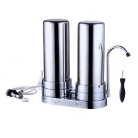 Wholesale 2 Stage Filtration Stainless Steel Water Purifier , Stainless Steel Whole House Water Filter For Home from china suppliers