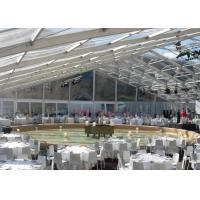 Wholesale Garden Wedding Marquee Tent With Transparent Roof 500 - 600 People Capcity from china suppliers