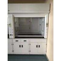 Buy cheap Laboratory PP Fume Hood with PVC Board Window 8 - 10mm Cabinet Door from wholesalers