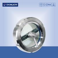 Wholesale DN150 SS304 / 1.4404  Stainless Steel Sight Glass for observing fluid installed on tank side from china suppliers