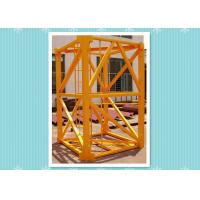 Wholesale Steel Building Crane Mast Section , Mast Tower Crane Model Climbing Platform from china suppliers
