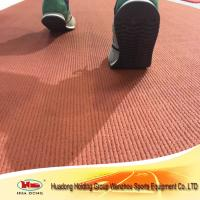 Buy cheap IAAF certified vulcanized rubber roll for running track from wholesalers