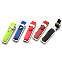 Wholesale Buckle Leather Custom USB Memory Stick / Promotional USB Thumb Drives from china suppliers