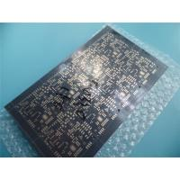 Buy cheap Multilayer PCB on 4 Layer Copper with Immersion Gold and Black Mask from wholesalers