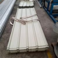 Buy cheap 840mm prepainted hot-dip zinc corrugated steel roof sheet for poulty house from wholesalers