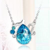 Wholesale Ref No.: 109008 Aquarius Elements Swarovski sphere necklace jewellery pendants crystal fashion jewelry from china suppliers