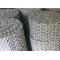 Quality Customzied Ceramic Structured Packings , High Capacity Distillation Column Internals for sale