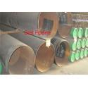 X46 PSL2 API 5L UOE Steel Pipe , Welded Polyethylene Coating Line Pipe for sale