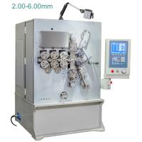 Wholesale 2.00 - 6.00mm Computerised CNC Spring Making Machine / Equipment Five Axis from china suppliers