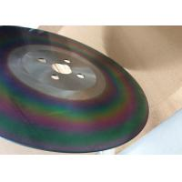 Buy cheap DMo5 material industry colorful coating high speed circular saw blade from wholesalers
