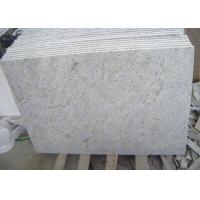 Wholesale Polished Kashmir White Granite Floor Tiles , Rough Granite Bathroom Tiles from china suppliers