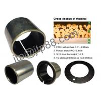 Wholesale SF-1W Flanged Sleeve Bushing , Oil Impregnated Bronze Bushings For Toyota from china suppliers