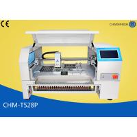 CHMT528P Auto Feeder SMT Pick And Place Equipment , 2 Cameras Pnp SMT Surface Mount System