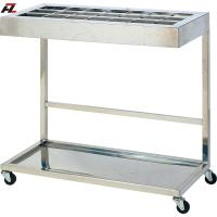 Wholesale Stainless Steel Umbrella Rack with Casters from china suppliers