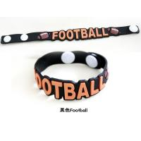 Wholesale Printed color silicone bracelets wristband for children from china suppliers