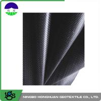 Wholesale 460G Black Geotextile Filter Fabric Convenient / Woven Geotextiles from china suppliers