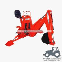 Wholesale BH5600 - Light Model 3 Point Backhoe for small tractor 16-25hp from china suppliers