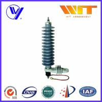 Wholesale Single Phase Silicon Rubber Lightning and Power Surge Arrester for Electrical Equipment from china suppliers