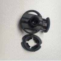 Wholesale Eclipse Cord Lock  2 Holes Cord Lock Toggle Stopper Plastic toggle clip Black from china suppliers