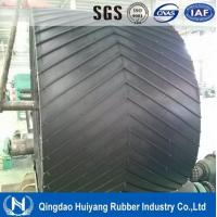 Wholesale Low abrasion high tensile strength Ep Chevron Rubber Conveyor Belt with ISO9001 from china suppliers