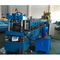Wholesale PLC Control Rack Roll Forming Machine Upright Shelf Making Equipment from china suppliers