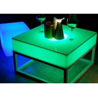 Wholesale Rechargeable Illuminated Bar Table Led Lights 16 Color Changing CE / Rohs Approved from china suppliers