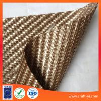 Wholesale light brown PP woven fabric in Textilene PVC coated mesh fabric weave for matting from china suppliers