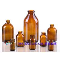 Wholesale Amber glass bottle injection for antibiotics from china suppliers