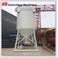 Wholesale Carbon Steel Portable Cement Silo , Concrete Batching Plant Cement Storage Silo from china suppliers