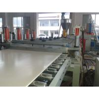 Wholesale Solid WPC PVC Foam Board Extrusion Line Flame Retardant Stable Output High Precision from china suppliers
