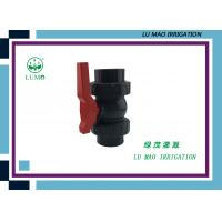 Wholesale High Pressure 2 Inch PVC Ball Valve / PVC True Union Ball Valve Flang Connection from china suppliers