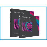 Wholesale Microsoft Windows 8.1 Pro Pack Windows 8 Pro FULL VERSION 64/32 Retail box from china suppliers