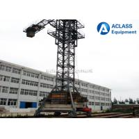 Wholesale Hydraulic Self - Climbing 60m Jib Mobile Tower Crane , Topkit Tower Crane from china suppliers