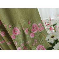 Wholesale Modern Blue / Green Embroidered Fabrics Garment Cloth Material from china suppliers