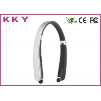 Wholesale Foldable Neckband Bluetooth Headphone CSR CVC Noise Reduction Headphone for Mobile Phone from china suppliers