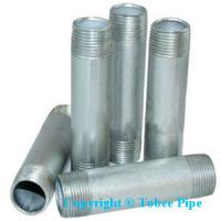 Wholesale malleable iron pipe fittings Nipple from china suppliers