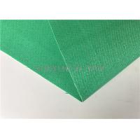 Wholesale Green Silicone Coated Fiberglass Fabric 0.85mm Thick 1000 / 1200 / 1500mm Wide from china suppliers