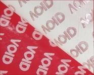 Wholesale Red VOID Tamper Evident Label Material Anti - Counterfeit Low Residue from china suppliers