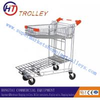 Wholesale Steel Material Folding Warehouse Hand Trolley / Carts Chrome Plated from china suppliers