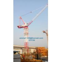 Wholesale D5015 8T Luffing Tower Crane Full Invertor Control Box with 7.5m Base Mast from china suppliers