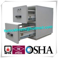 Wholesale Steel Fireproof Waterproof File Cabinet Two Drawer Lockable 2 Hours Fire Rating from china suppliers