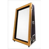 Quality 55 / 65 Inch Movable Magic Mirror Photo Booth For Weddings And Parties for sale