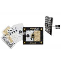Wholesale Brazil Copag 1546 Black Golden Plastic Jumbo Playing Cards For Casino Games from china suppliers