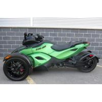 Quality 1000cc Can Am 3 Wheel Motorcycle , V - Twin 2 Front Wheel Motorcycle Liquid Cooled for sale