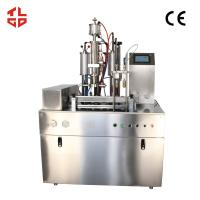 Wholesale PLC System Automatic Filling Machine For Canned Fresh Air 600-800cans/Hr from china suppliers