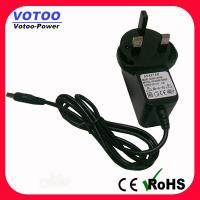 Wholesale High Efficiency 9W 9V 1A Wall Mount Power Adapter For DVD Player , 50-60Hz from china suppliers